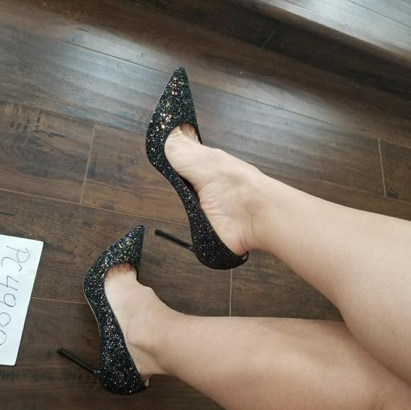 1c30110eddb5 Jimmy Choo ROMY rainbow degrade heels